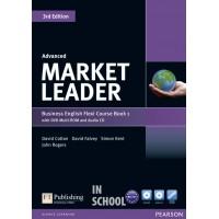 Market Leader Advanced Flexi Course Book 1 Pack ISBN : 9781292126067
