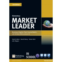 Market Leader Elementary Flexi Course Book 1 Pack ISBN : 9781292126081