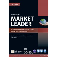 Market Leader Intermediate Flexi Course Book 2 Pack ISBN : 9781292126111