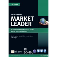 Market Leader Pre-Intermediate Flexi Course Book 2 Pack ISBN : 9781292126135