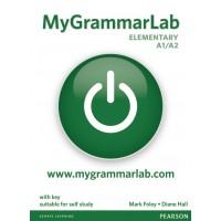 MyGrammarLab Elementary (A1/A2) Student Book (with Key) and MyLab ISBN: 9781408299135