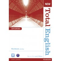 New Total English Advanced Workbook (with Key) and Audio CD ISBN: 9781408267318