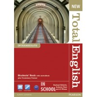New Total English Intermediate Students' Book (with Active Book CD-ROM) ISBN: 9781408267189