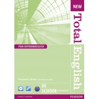 New Total English Pre-intermediate Teacher's Book (with Resource Disc) ISBN: 9781408267288