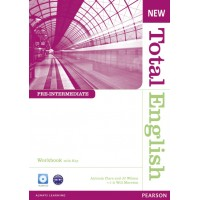 New Total English Pre-intermediate Workbook (with Key) and Audio CD ISBN: 9781408267370