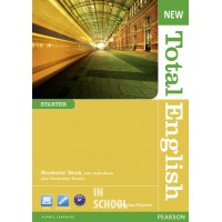 New Total English Starter Students' Book (with Active Book CD-ROM) ISBN: 9781408267219