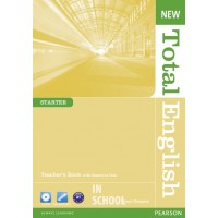 New Total English Starter Teacher's Book (with CD-ROM) ISBN: 9781408267295