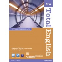 New Total English Upper Intermediate Students' Book (with Active Book CD-ROM) ISBN: 9781408267240
