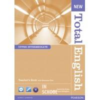 New Total English Upper Intermediate Teacher's Book (with Resource Disc) ISBN: 9781408267301