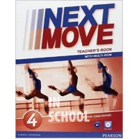 Next Move 4 Teacher's Book with Multi-ROM ISBN: 9781447943655