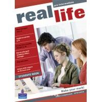 Real Life Pre-intermediate Students' Book ISBN: 9781405897068