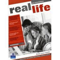 Real Life Pre-intermediate Workbook & Multi-ROM (includes Workbook audio) ISBN: 9781408235157