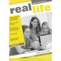 Real Life Upper Intermediate Workbook & Multi-ROM (includes Workbook audio) ISBN: 9781408239483