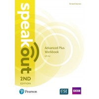 SpeakOut 2nd Advanced Plus WB +key ISBN: 9781292212241