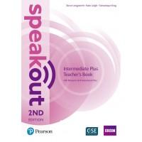 SpeakOut 2nd Intermediate Plus TB +CD ISBN: 9781292241555