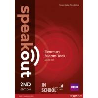 Speakout 2nd Edition Elementary Coursebook with DVD Rom ISBN: 9781292115924