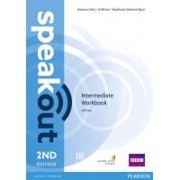 Speakout 2nd Edition Intermediate Workbook with Key ISBN: 9781447976868