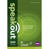 Speakout 2nd Edition Pre-intermediate Coursebook with DVD Rom ISBN: 9781292115979
