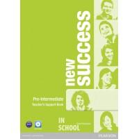 New Success Pre-Intermediate Teacher's Book (with Test Master CD-ROM) ISBN: 9781408297131