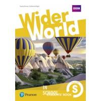 Wider World Starter SB  ISBN: 9781292107455
