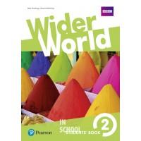 Wider World 2 Students' Book ISBN: 9781292106700