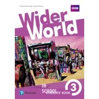 Wider World 3 Students' Book ISBN: 9781292106946