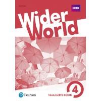 Wider World 4 Teacher's' Book + DVD ISBN: 9781292178783