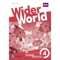 Wider World 4 Workbook with Online Homework Pack ISBN: 9781292178806